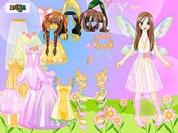 Gioca gratuitamente a Pink Fairy Dressup