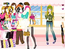 Gioca gratuitamente a Colorful Winter Dress Up
