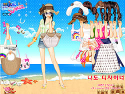 Gioca gratuitamente a Bikini Dress Up