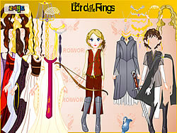Gioca gratuitamente a Lord Of The Rings Dress Up