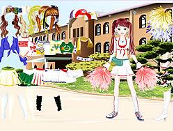 Gioca gratuitamente a Cheerleader Dress Up