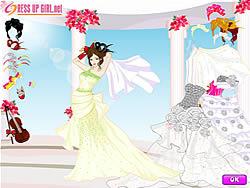 שחקו במשחק בחינם My Wedding Day Dressup