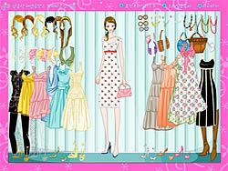 שחקו במשחק בחינם Girl in Summer Dress