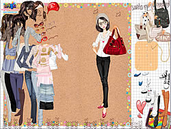 Shopping Girl 3 Dress Up لعبة