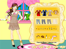 Girl Dressup Makeover 5 oyunu