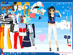 Gioca gratuitamente a Love Doll Dress Up