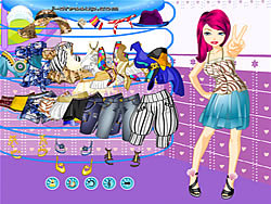Girl Dressup Makeover 63 game