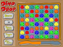 Dino Drop game