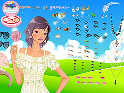 Gioca gratuitamente a Romantic Hair and Lips Dressup