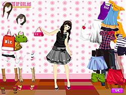 Summer Shopper Dressup game