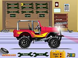 Juega al juego gratis Pimp My Jeep