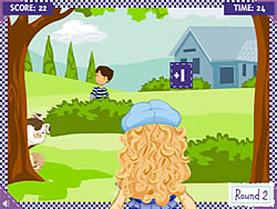 Holly Hobbie: Water Balloon Blast game