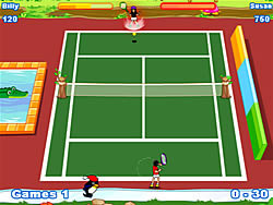 Twisted Tennis game