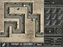 Juego War of Guns