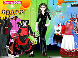 Doris Punk Girl Dressup game