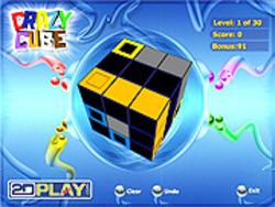 無料ゲームのCrazy Cubeをプレイ