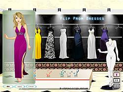 Game Flip Prom Dresses