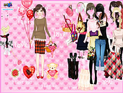 Gioca gratuitamente a Time to Love Dressup