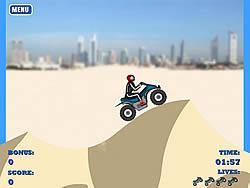 Dune Bashing in Dubai game
