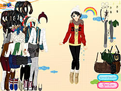 After the Rain Dressup oyunu