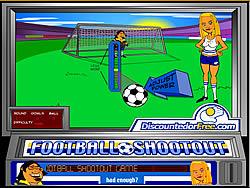 Jogar jogo grátis Football Shootout