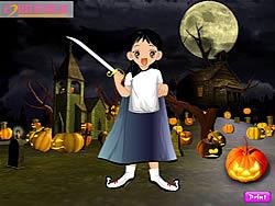 Gioca gratuitamente a Halloween Cute Dressup