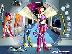Gioca gratuitamente a Ashley Spacegirl