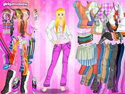 Gioca gratuitamente a Pink Dressup