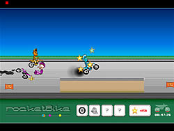 Gioca gratuitamente a Rocket Bike