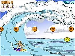 Permainan Surf Point Blue