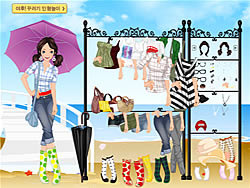 Rainy Dressup game