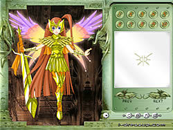 Goddess of War Dressup game