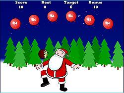 Santa Keepy Uppy game