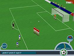 Jogar jogo grátis Baggio Magic Kicks
