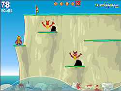 Gioca gratuitamente a Monkey Cliff Diving