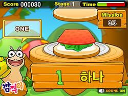 Sandwich Word game