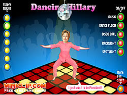 Dancing Hilary game