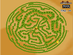 Permainan Maze Game - Game Play 1: Find The Chicken