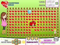 Permainan Valentines Heart Sneak