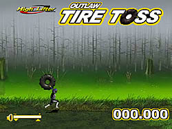 Tire Toss game
