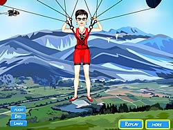 Sky Diver Dress Up game