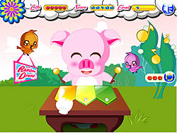 Piggy Musician game