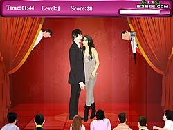 Jogar jogo grátis Zanessa Kissing