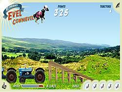 Evel Cownievel game