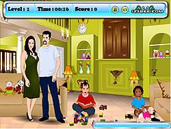 Jogar jogo grátis Angelina and Brad Kissing