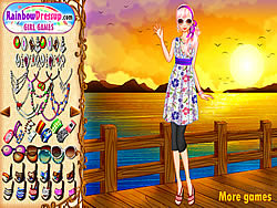Sunset Chic Dressup oyunu