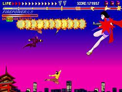 Ninja Air Combat game