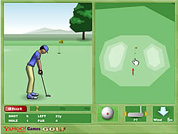 Yahoo Golf game