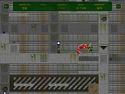 Gioca gratuitamente a Flash Doom 2D