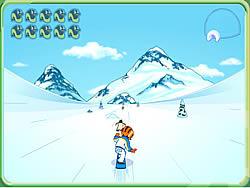 Gioca gratuitamente a Go Diego Go - Snowboard Rescue